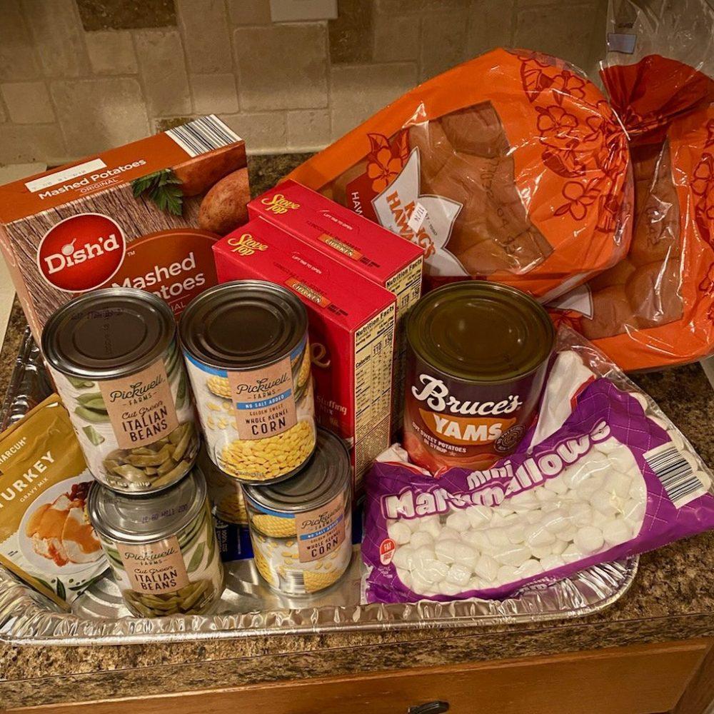 Sponsor Thanksgiving Family Meal Kit